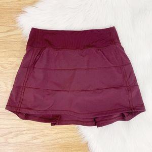 Lululemon Pace Rival Skirt Dark Adobe (Tall) {C}